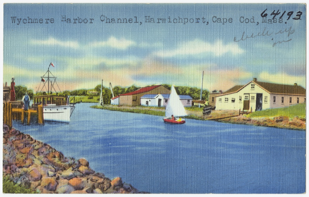 Wychmere Harbor Channel, Harwichport, Cape Cod, Mass.