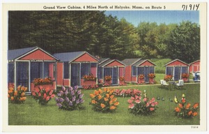 Grand View Cabins, 4 miles north of Holyoke, Mass., on Route 5
