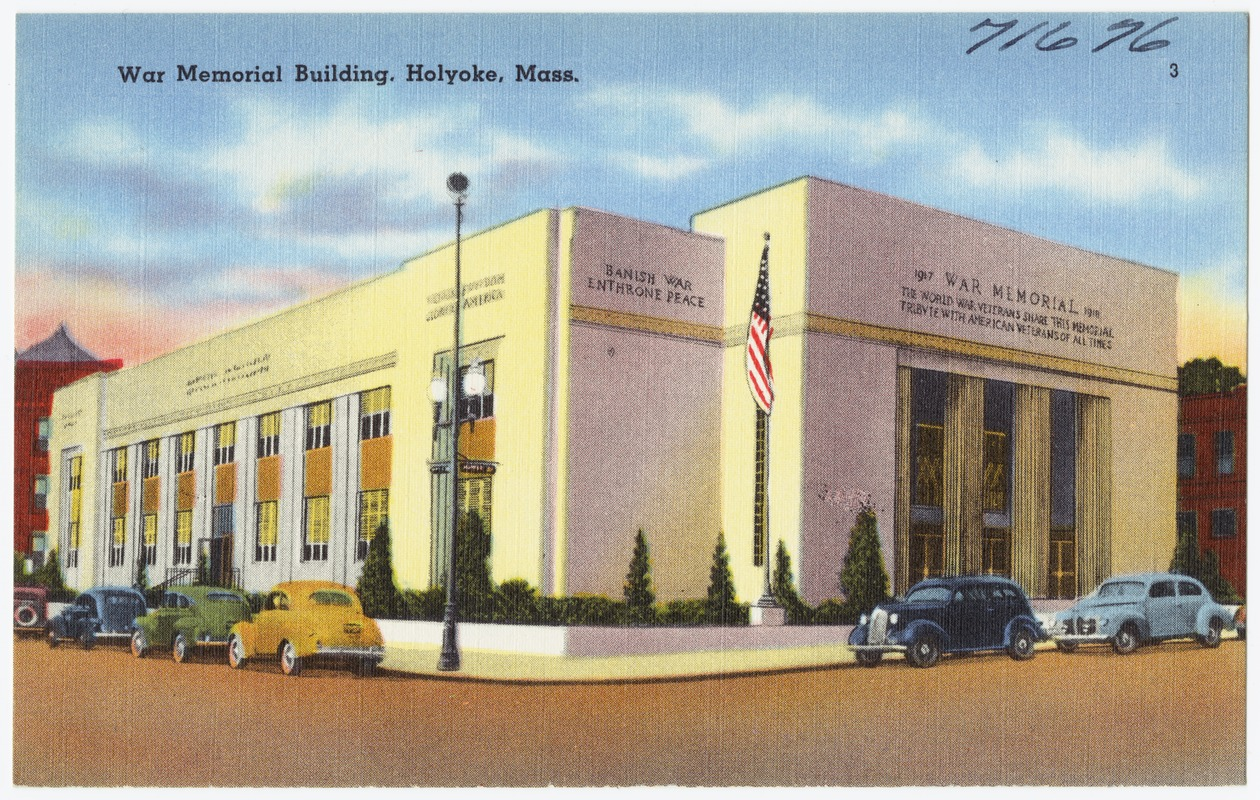 War Memorial Building, Holyoke, Mass.