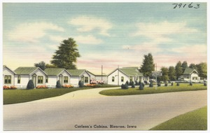 Carlson's Cabins, Blencoe, Iowa