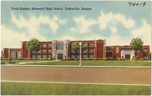 Field Kindley Memorial High School, Coffeyville, Kansas