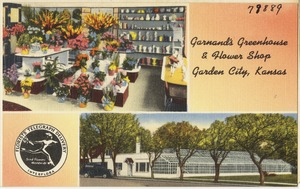 Garnandi's Greenhouse & Flower Shop, Garden City, Kansas