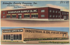 Scheufler Supply Company, Inc., 1515 Kansas Ave., Great Bend, Kansas