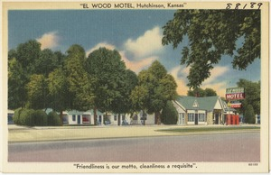 """El Wood Motel, Hutchinson, Kansas"""