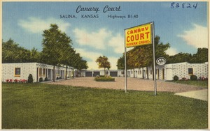 Canary Court, Salina, Kansas, Highways 81-40