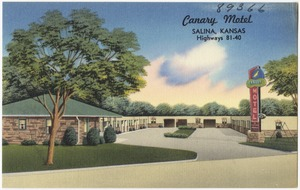 Canary Motel, Salina, Kansas, Highways 81-40