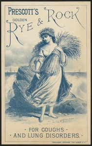 Prescott's Golden Rye & Rock for coughs and lung disorders.