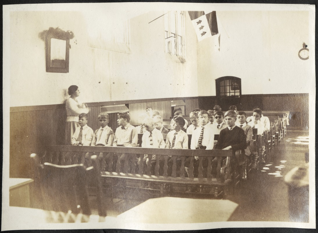 Boys Assembly, Perkins Institution