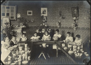 Kindergarten Class, The Royal Normal College for the Blind, England
