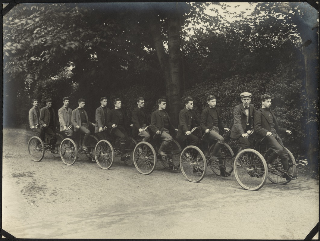 Boys Party Ready for an Outing, The Royal Normal College for the Blind, England