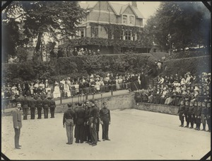 Gymnastics at Garden Party, The Royal Normal College for the Blind, England