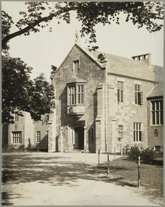 Front of Howe Building, Perkins School for the Blind
