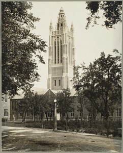 Bell Tower of the Howe Building, Perkins School for the Blind