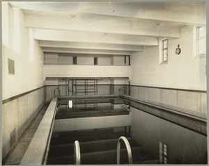 Construction of Saltonstall Pool, Perkins School for the Blind