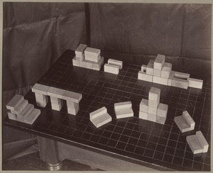 Inventions Made with the Third and Fourth Gifts, Kindergarten for the Blind