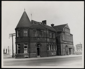 Former Police Station No. 5 and Public Library Branch, New Bedford