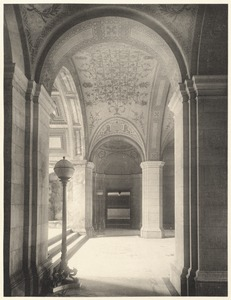 Corridor in entrance hall.