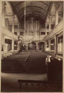 Christ Church, Salem St., Boston. Interior