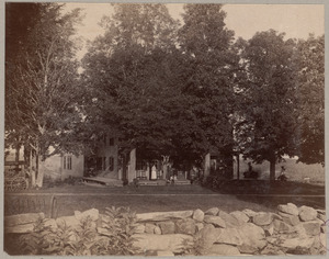 Home of Hattie Hable - with [illegible] - Meredith N.H.