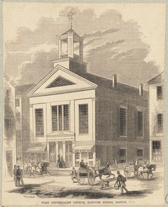 First Universalist Church, Hanover Street, Boston