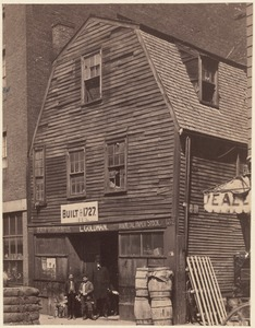 Thoreau House, Prince St. 1727-