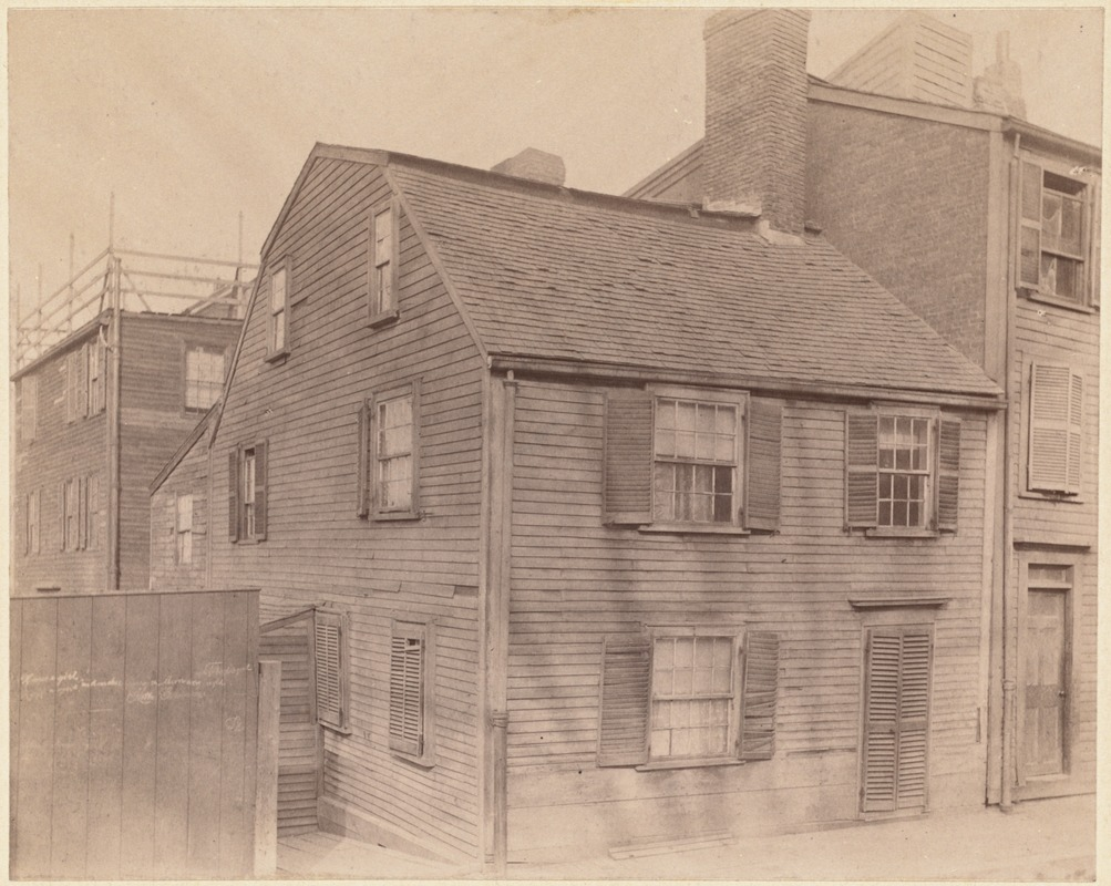 Johnson-Singleton House, Charter St.