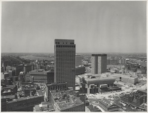 Government Center shortly before completion