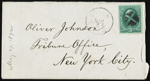 Letter from William Lloyd Garrison, Roxbury, [Mass.], to Oliver Johnson, May 27, 1872