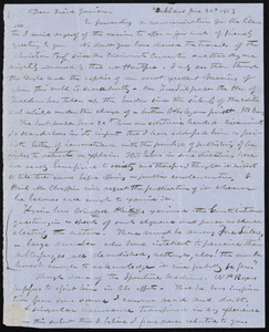 Letter from Abraham Brooke, Oakland, [Ohio], to William Lloyd Garrison, June 30th, 1853