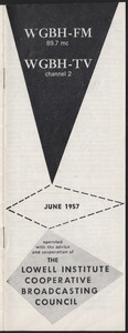 WGBH Program Schedule June 1957