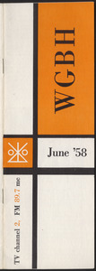 WGBH Program Schedule June 1958