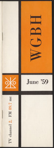 WGBH Program Schedule June 1959