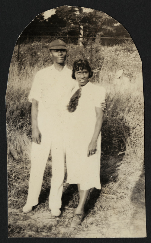 "Brandford Burke, Keitha's father, and Henrietta ""Yetta"" Burke (nee Brown), Keitha's mother"