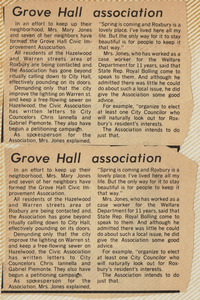 Grove Hall association