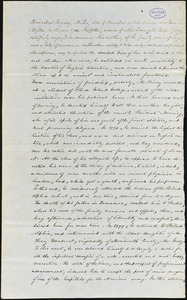 Barnabas Binney manuscript by unidentified writer