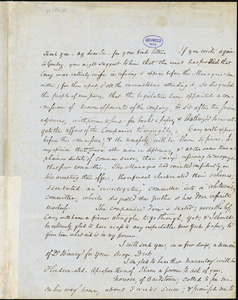 Horace Binney Wallace, Philadelphia, PA., autograph letter signed to R. W. Griswold, 26 February 1849