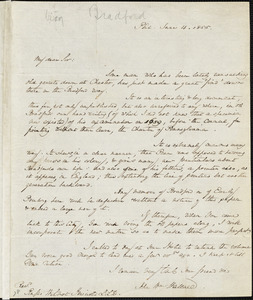 John William Wallace, Philadelphia, PA., autograph letter signed to R. W. Griswold, 4 June 1855