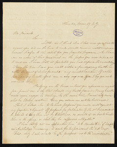 Abby Dwight Woodridge, Hunter, NY., autograph letter signed to R. W. Griswold