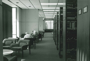 Lawrence Public Library interior