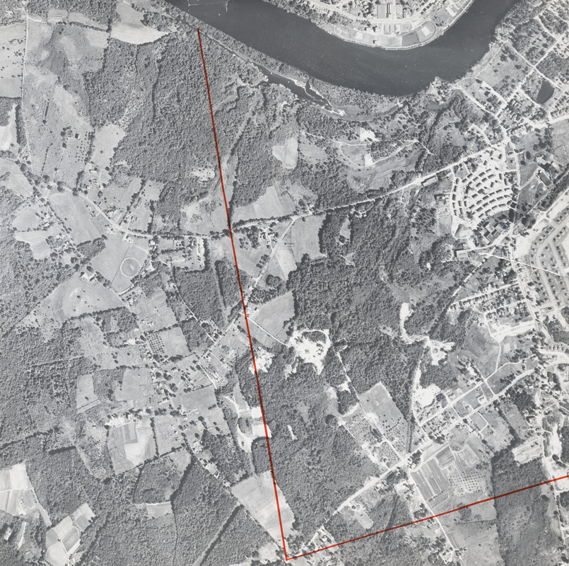 Lawrence, Mass., aerial photograph