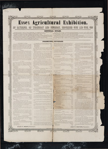 Essex Agricultural Exhibition at Lawrence