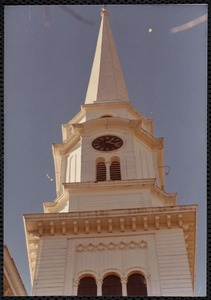 First Parish Unitarian-Universalist Church - steeple
