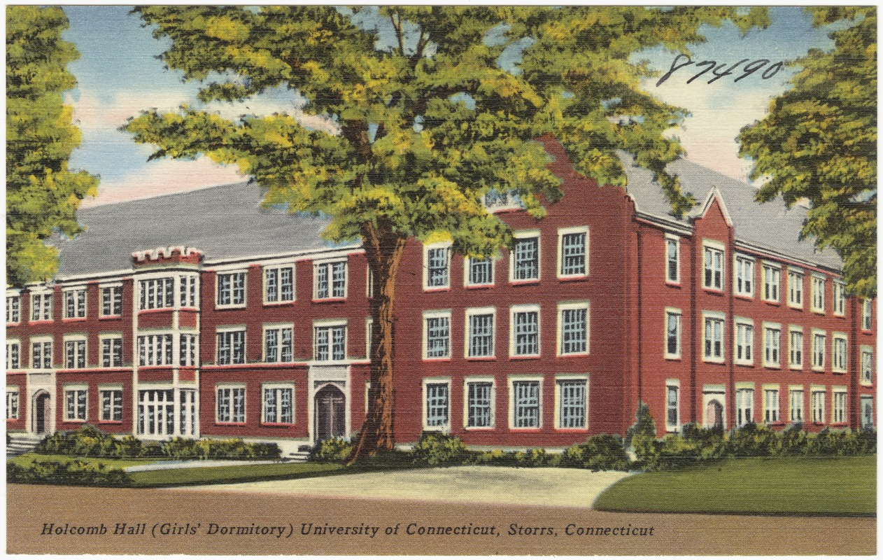 Holcomb Hall (Girl's Dormitory), University of Connecticut, Storrs, Conn.