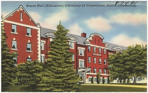 Koons Hall (Education), University of Connecticut, Storrs, Conn.