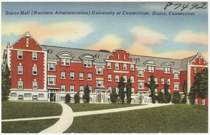 Storrs Hall (Business Administration), University of Connecticut, Storrs, Conn.