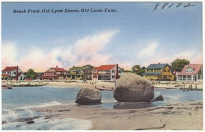 Beach front, Old Lyme shores, Old Lyme, Conn.