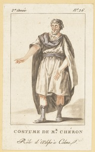 Costume De Mr. Chéron- Role d'Oedipe à Colone
