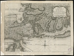 A plan of the Straits of St. Mary, and Michilimakinac, to shew the situation & importance of the two westernmost settlements of Canada for the fur trade