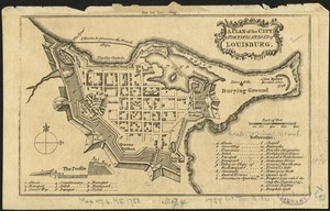 A Plan of the city & fortifications of Louisburg