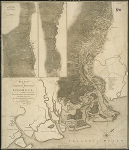 Sketch of the northern frontiers of Georgia, extending from the mouth of the River Savannah to the town of Augusta